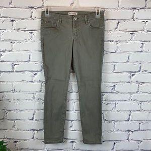 Express Cotton/Spandex Jean Leggings Low Rise Sz 4